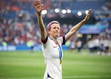 Megan Rapinoe & 500 women athletes say abortion rights protect women's sports