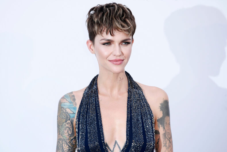 CAP D'ANTIBES, FRANCE - MAY 17: Ruby Rose arrives at the amfAR Gala Cannes 2018 at Hotel du Cap-Eden-Roc on May 17, 2018 in Cap d'Antibes, France.