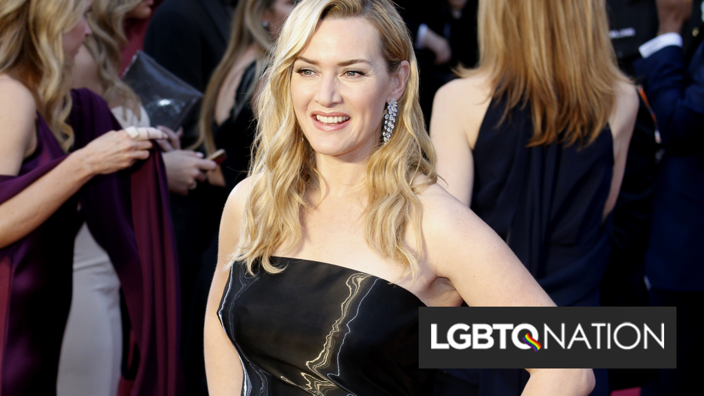 """Kate Winslet knows """"at least four"""" actors who are """"terrified"""" of coming out in Hollywood"""