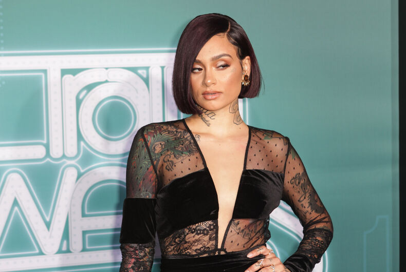 Kehlani on the red carpet at the BET Presents: 2017 Soul Train Awards in Las Vegas