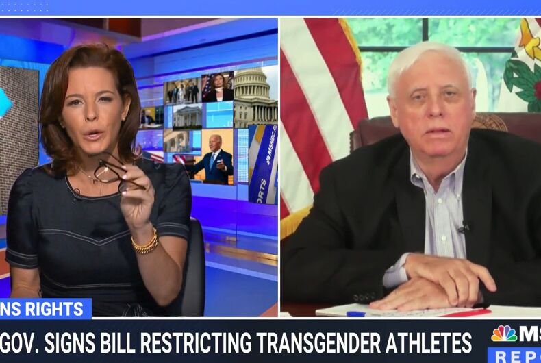 Sephanie Ruhle was having none of Gov. Jim Justice's excuses