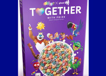 "Kelloggs launches heart-shaped rainbow ""Pride"" cereal covered in edible glitter"