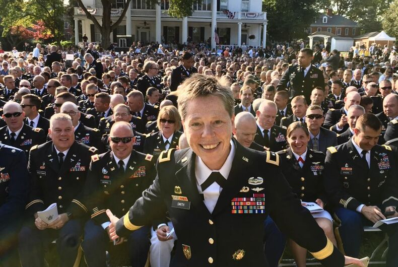 Out Major General Tammy Smith retires after 35 years of service