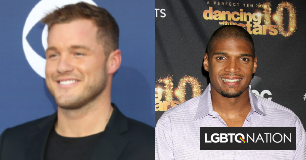 "Colton Underwood wishes he had been as ""brave"" as Michael Sam & came out years ago"
