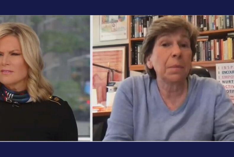 Martha MacCallum (left) and Randi Weingarten (right)