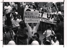 Pride in Pictures 1990s: The fire & fury of AIDS, DOMA & Don't Ask Don't Tell