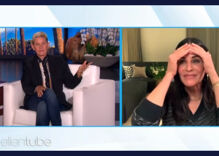 Ellen is now staying with Courteney Cox — but not because of marital problems