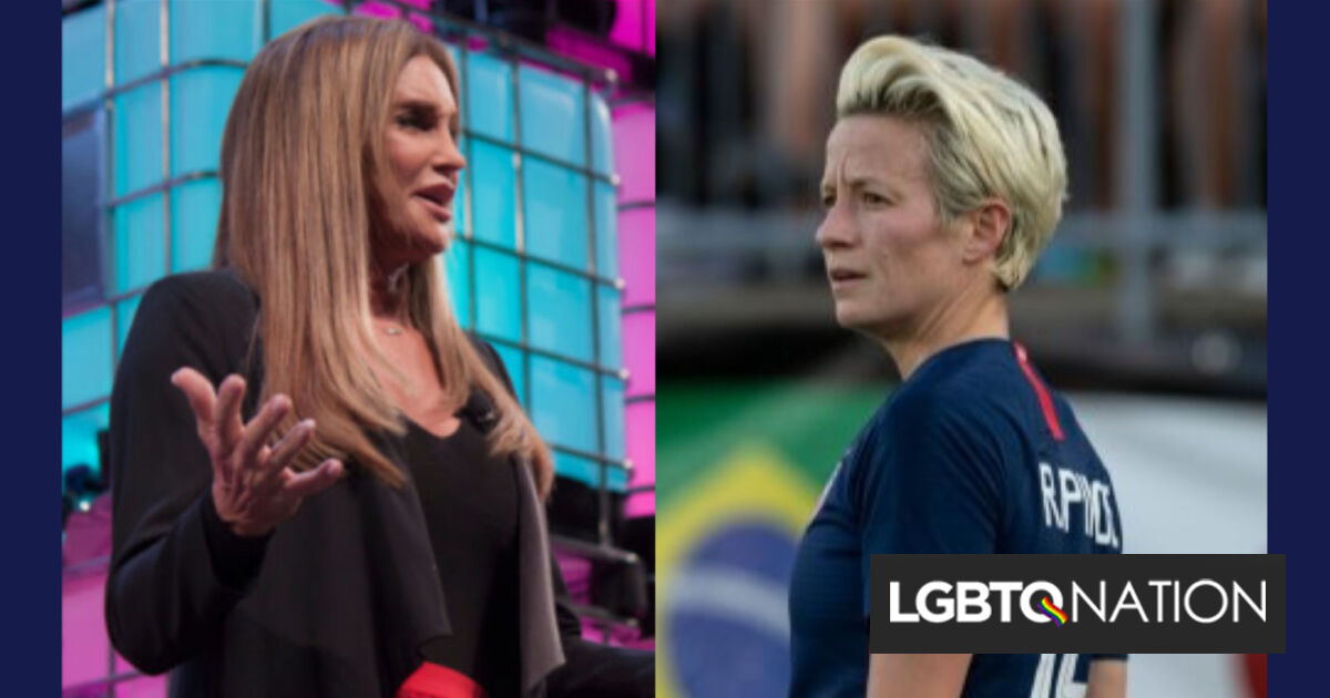 """Megan Rapinoe burns Caitlyn Jenner over her """"not exceptional"""" foray into politics"""