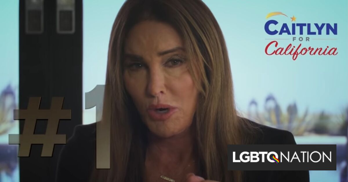 Caitlyn Jenner panders to religious right & cites the Bible in new campaign spot