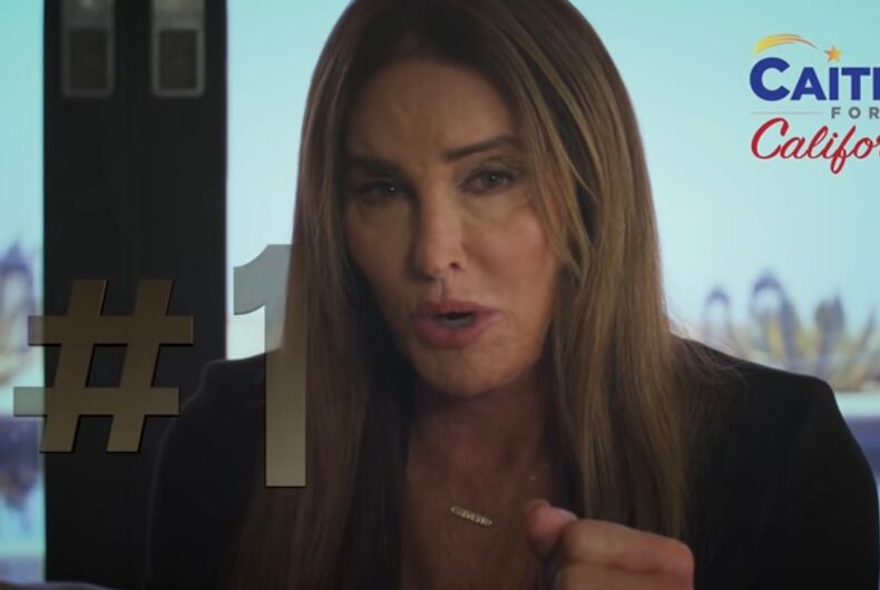 Caitlyn Jenner complaining about