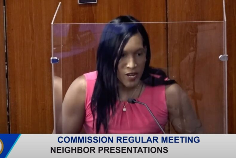 May 4, 2021: Carvelle Estriplet testifies before the Ft. Lauderdale City Commission