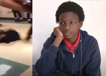 Vicious attack on gay middle schooler caught on video as classmates watch but don't help