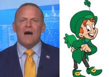 """TV anchor claims the Lucky Charms leprechaun is gay in unhinged rant about Kellogg's """"woke"""" cereal"""