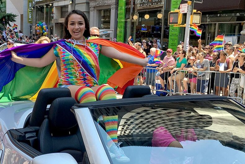 Jazz Jennings, pride parade 6/26/16 TLC