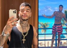 Rapper dies during bisexual threeway. He jumped off a balcony to hide from his wife.