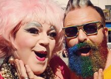 Pride in Pictures: My first glitter beard