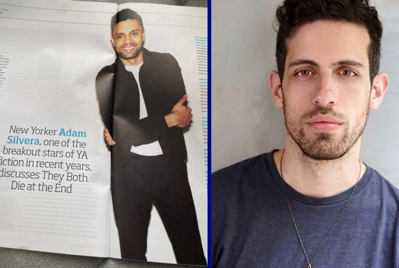 The Adam Silvera interview with the wrong photo/Adam Silvera
