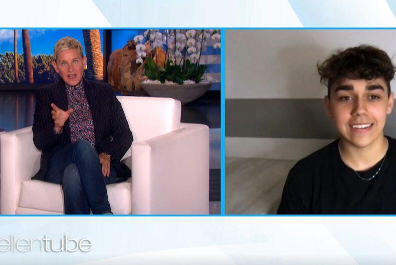 Ellen DeGeneres talked to Jay on her show.