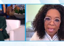 Ellen fights back tears & explains to Oprah why she's ending her show