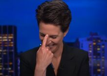 "Maddow busts out laughing at the latest election conspiracy theory about ""bamboo ballots"""