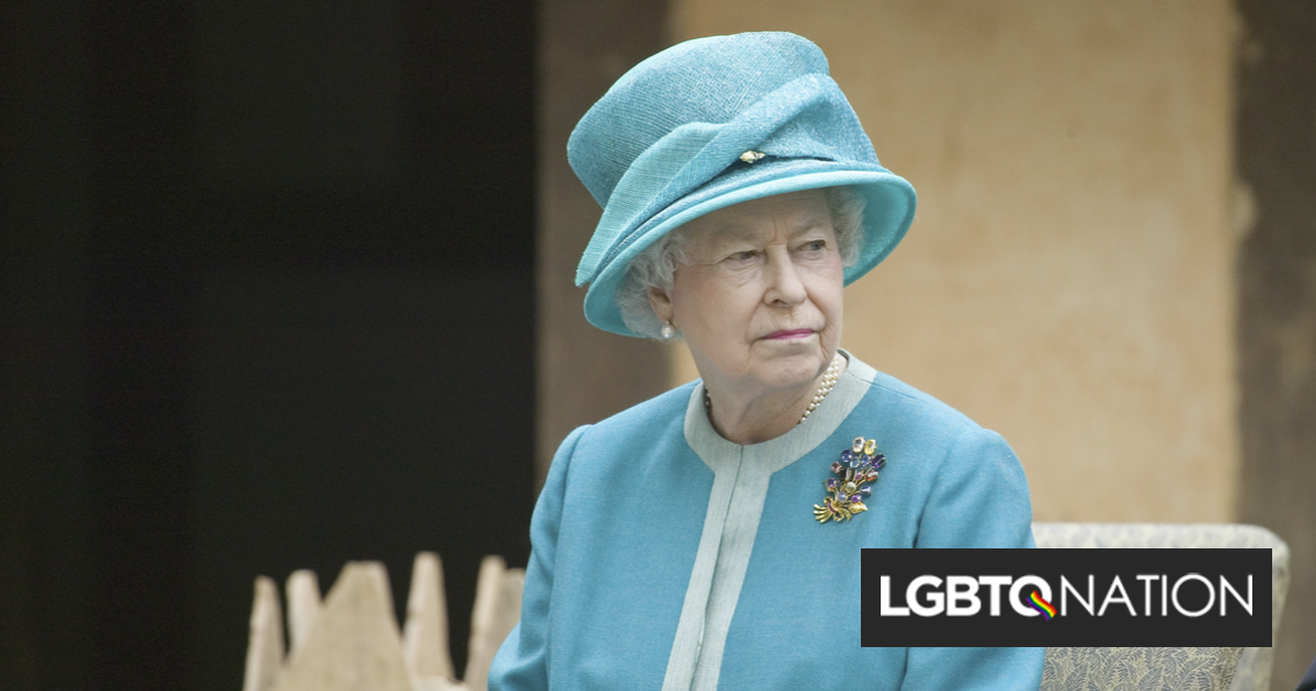 """Queen Elizabeth II announces government will ban """"ex-gay"""" conversion therapy"""