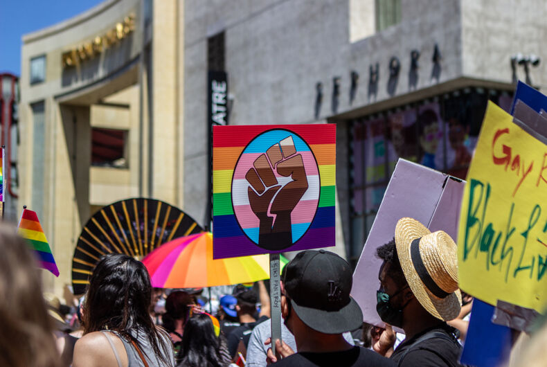 """Together """"Black Lives Matter & the LGBTQ movement"""" will make the world a better place"""