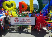 Pride in Pictures: Marching for LGBTQ youth