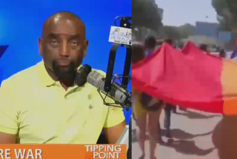 Jesse Lee Peterson appearing on