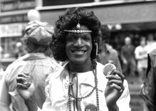 Never before seen photos of LGBTQ icon Marsha P. Johnson
