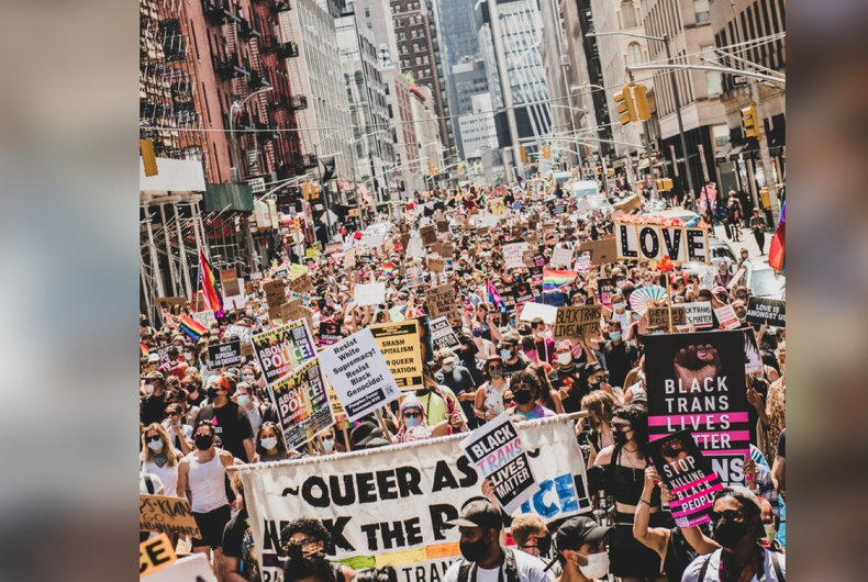"""When it comes to NYC's dueling Pride parades… """"The Fight Continues"""""""