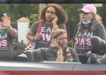 Pickup truck driver veers into Pride parade, leaving at least one dead