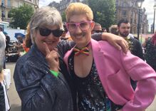 Pride in Pictures: Reuniting with friends