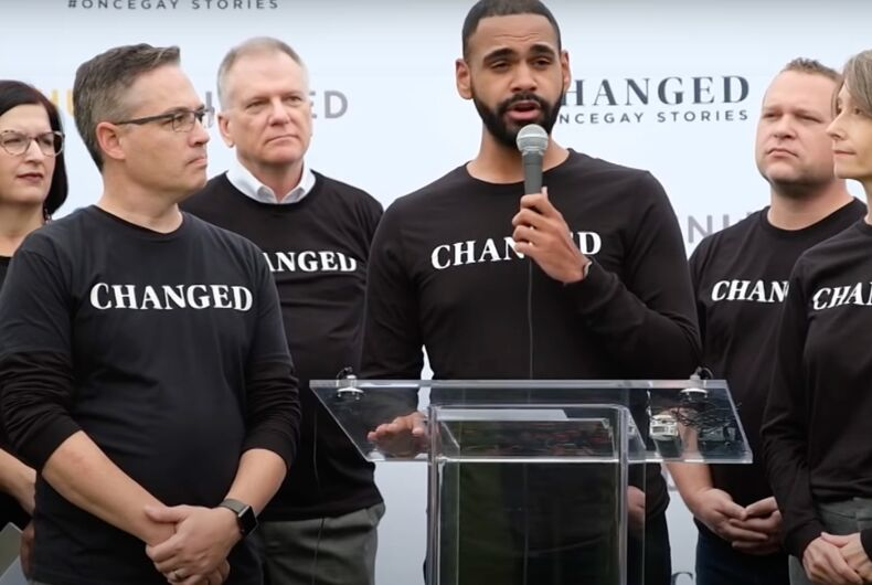 CHANGED activists held a press conference outside the US Capitol in 2019.