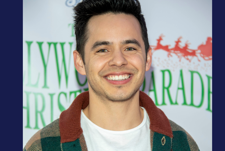 David Archuleta attends 88th Annual Hollywood Christmas Parade Featuring Marine Toys for Tots on Hollywood Boulevard, Hollywood, CA on December 1, 2019
