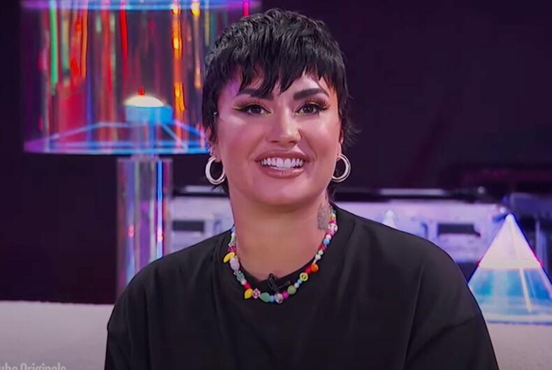 Demi Lovato celebrates Pride with YouTube