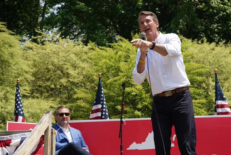 Virginia's governor race is being fought on the backs of transgender people