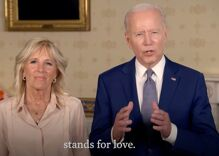 A special Pride message from President Joe Biden & the First Lady