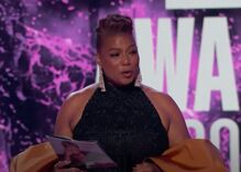 Queen Latifah is officially out after she sends love to her partner & son during BET awards ceremony