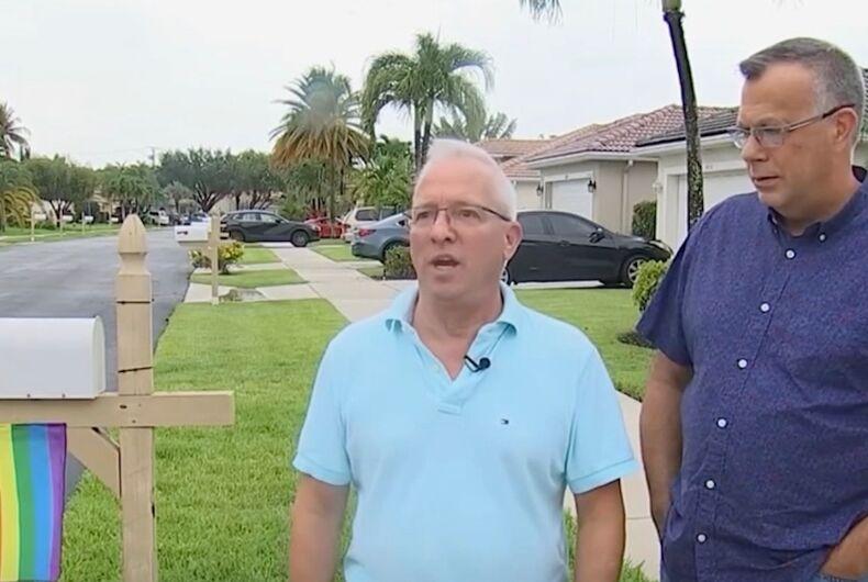 HOA fines couple for flying pride flag