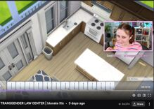 A Twitch streamer raised $15,000 for the Transgender Law Center by playing The Sims 4