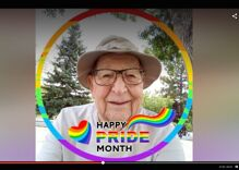This man is finally celebrating Pride at 91. He came out when he was 89.