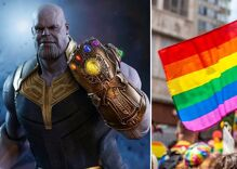 """The """"Gay Thanos"""" meme took over the internet just in time for Pride"""