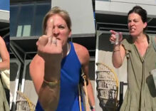 Crowd shames group of Karens who accosted a Black queer couple