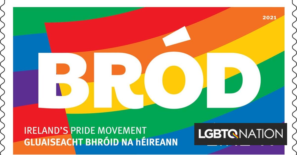 Ireland is the latest country to issue special Pride Month stamps. Americans are still waiting.