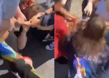 Mob laughs as they viciously stomp 12-year-old kid who wore a rainbow flag to a picnic
