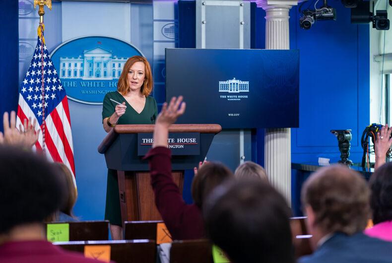 Press Secretary Jen Psaki holds a Press Briefing on Thursday, June 3, 2021, in the James S. Brady White House Press Briefing Room.