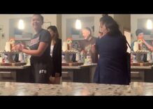 A woman came out to her parents with a Pride flag cake. They could not have reacted better.