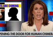 Out Fox host warns viewers about hellish human-animal mutants that Democrats support