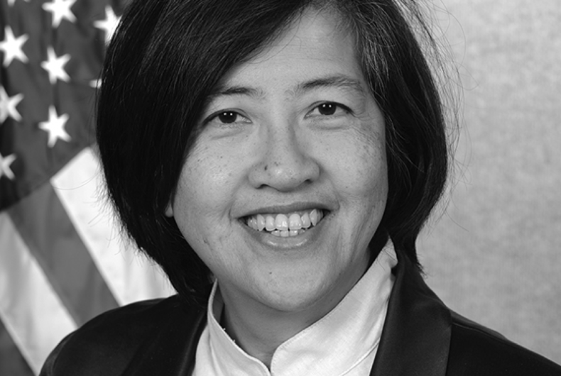 Chantale Wong is being appointed to an ambassadorship as U.S. Director of the Asian Development Bank