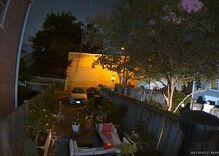 Man caught on video hurling vicious slurs at gay neighbors during late-night backyard meltdown